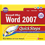 Microsoft Office Word 2007 QuickSteps (How to Do Everything)