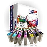 Pack 7 Epson T0807 Supérieure Qualité cartouches d'encre Epson Stylus PhotoP50 /PX650 / PX700W / PX710W / PX720WD / PX800FW / PX810FW / PX820FWD / PX830FWD / R265 / R285 / R360 / RX560 / RX585 / RX685