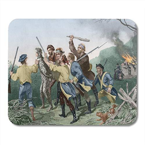 Deglogse Gaming-Mauspad-Matte, Whiskey Rebellion in Western Pennsylvania 1794 The Rebels Escort Mouse Pad, Desktop Computers mats