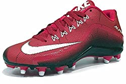 Nike Mens Alpha Pro 2 3/4 TD Football Cleats (11. 5, Red/Black)