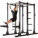 Iconiq Power Cage CF 600 Multifunktionales, Freistehendes Power Rack, Ideal Für Crosstraining, Calisthenics Und Krafttraining Mit Dem Eigenen Körpergewicht - Doppel-Squat, Klimmzugstation - 8