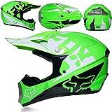Die besten Full Face Motorradhelme - Erwachsene Full Face Cross-Country Motorrad Helm stoßfest Motorradhelme Bewertungen