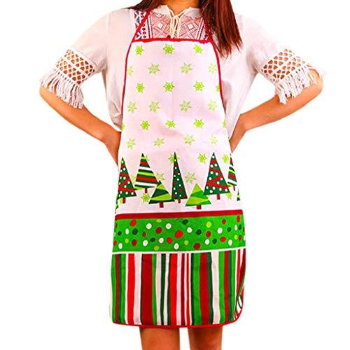 Weihnachtsdekoration Wasserdichte Schürze Weihnachten Dinner Party Schürze Festliche Lustig Kochschürze Latzschürze Kochen Küche BBQ Weihnachten Geschenk Sexy Neuheit für Kinder Frauen Männer