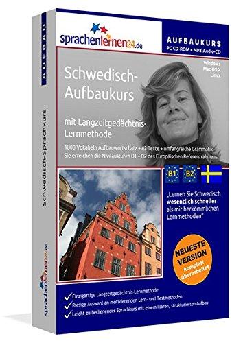 Schwedisch-Aufbaukurs: Lernstufen B1+B2. Lernsoftware auf CD-ROM + MP3-Audio-CD für Windows/Linux/Mac OS X. Fließend Schwedisch lernen für Fortgeschrittene mit Langzeitgedächtnis-Lernmethode