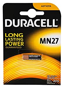 Duracell MN27 27A A27 L828 12V Security Cell Alkaline Battery