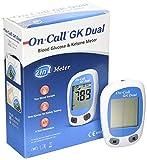 ON CALL GK DUAL Blood Glucose & Ketone Meter Monitering System Monitor