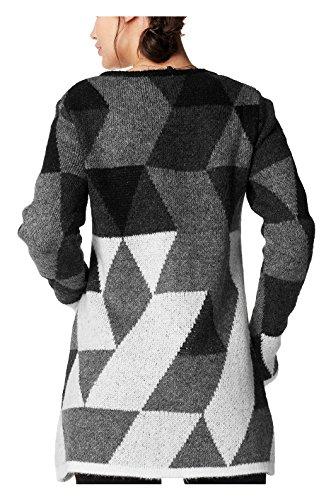 Noppies Cardigan Knit Ls Mette, Gilet Maternité Femme Multicolore - Mehrfarbig (Graphite C241)