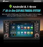 "Autoradio Erisin ES3878A 7"" Android 8.1 GPS Wifi AUDI A4 S4 RS4 B7 B9 SEAT EXEO"