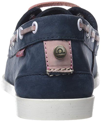 Chatham Damen Rema Bootsschuhe Blue (Navy Pink 007)