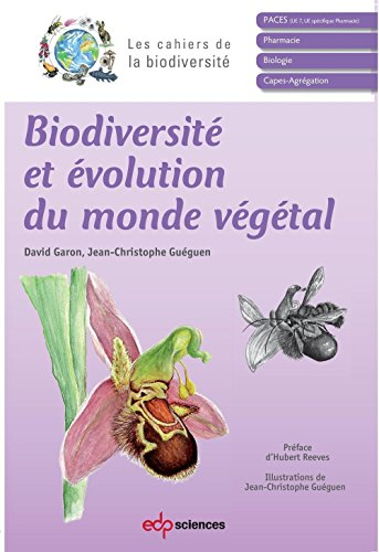Biodiversité et évolution du monde végétal (Les cahiers de la biodiversité) par Garon David