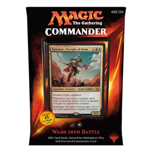 Magic - MTG Commander Deck 2015 – Wade into battle (rot) ENGLISCH (Yu Gi Oh Karten 2015)