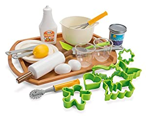 Andreu Toys Andreu Toys014700 Dantoy - Juego de repostería para jardín, Color Verde