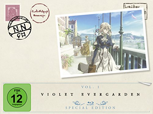 Violet Evergarden - St. 1 - Vol. 1 [Blu-ray] [Special Edition]