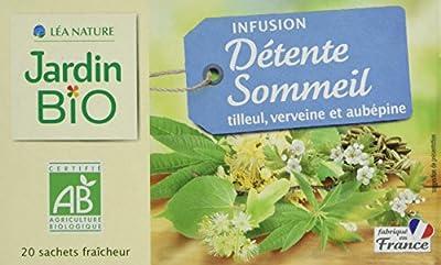 Jardin Bio Infusion Détente Sommeil 30 g - Lot de 4