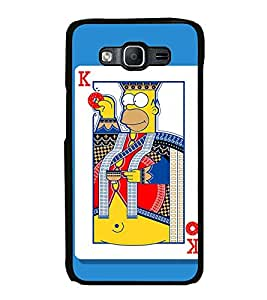 Fuson Designer Back Case Cover for Samsung Galaxy On7 Pro :: Samsung Galaxy On 7 Pro (2015) (Game India Goa cartoon Character Raja )