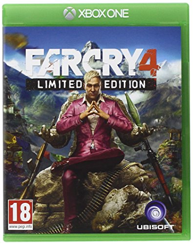 Preisvergleich Produktbild Ubisoft Far Cry 4 Set (Xbox One,  xBox One,  Shooter,  M (Reif))