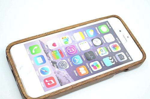 RoseFlower® Coque iPhone 6 4.7'' en Bois Véritable - Cerisier bois indien Bouddha - Fabriqué à la main en Bois / Bambou Naturel Housse / Étui avec Gratuits Film de Protecteur Écran pour votre Smartpho Arbrenoyer