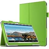 Artizlee 10 Zoll Tablet PC ATL-21 Hülle Case- Infiland Slim Fit Folio PU-lederne dünne Kunstleder Schutzhülle Cover Tasche für 10.1