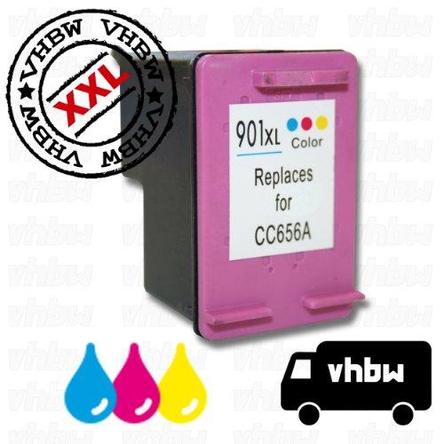 Cartucce rigenerate per stampante 3 colori per hp nr. 901