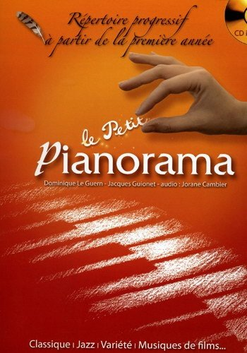 Hit Diffusion - Petit Pianorama + Cd - Le Guern D. Gionet J. / Cambier J.