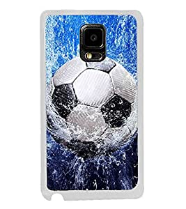 ifasho Foot ball Back Case Cover for Samsung Galaxy Note 4 Edge