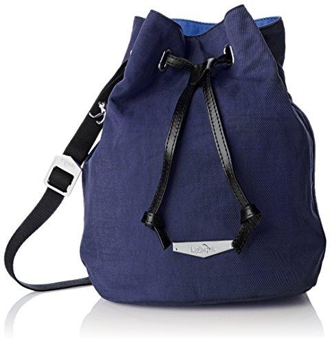 Kipling Damen Dominica Kc Umhängetasche, Blue Block Lght, 30 cm (Kipling One-shoulder-bag)