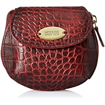 Hidesign Women's Wallet (Red Marsala)