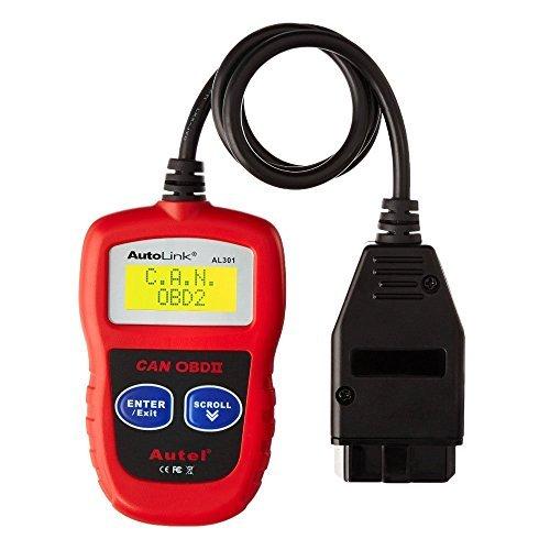 Autel Maxicheck AL301 OBD2 OBDII EOBD Scanner Car Code Leser Daten Tester Scan Diagnose-Tool (Reader Motor-code Volkswagen)
