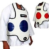 TurnerMAX Chest Guard karate Protector Karate Body Armour Rib MMA Martial Arts