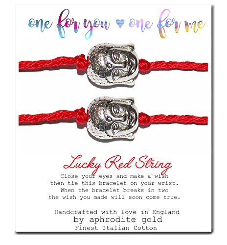 red-string-bracelet-friendship-wish-bracelet-buddha-gift-card-party-favour-one-to-wear-one-to-share
