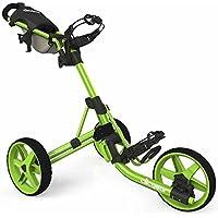 Clicgear CLICT35CL Carros De Golf, Unisex Adulto, Negro/Verde, Regulable