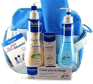Mustela - Mes 1er Produits Mustela - 4 Produits + Sac Bleu et Tapis à Langer Offerts