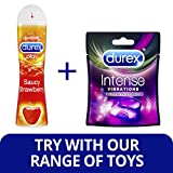 Durex Play Saucy Strawberry Lubricant Gel, 50 ml