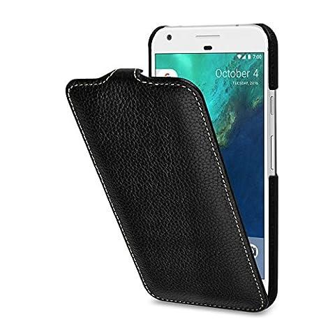 StilGut UltraSlim Case Hülle Leder-Tasche für Google Pixel XL. Dünnes