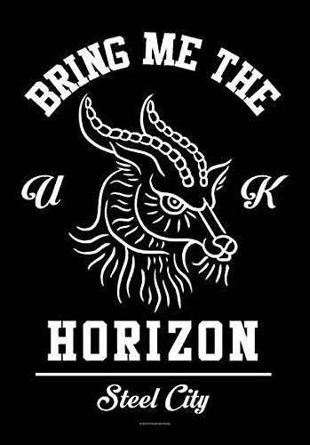 Bring Me The Horizon-Bandiera Poster Bandiera Steel City