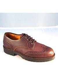 Botasvalverde - 715 - Zapato Ingles Castaña P. Montaña