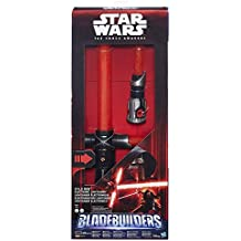 Star Wars The Force Awakens Kylo Ren Deluxe Electronic Lightsaber Simulates Classic Lights and Sounds by Unknown