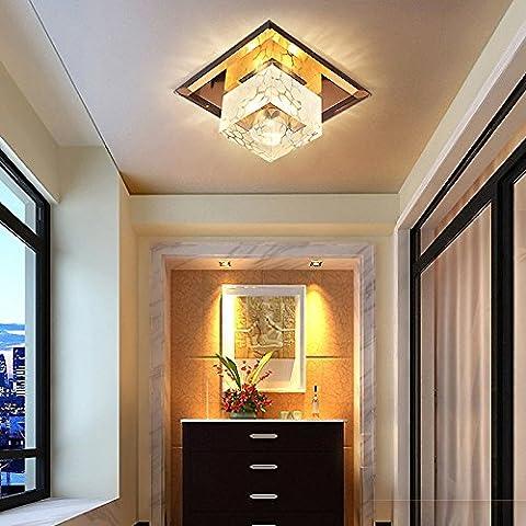 Il led si accende la luce del corridoio di cristallo che fa aderire il corridoio lampade lanterne in giorni