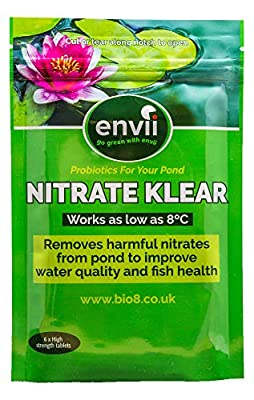 Envii Nitrate Klear - pond nitrate removal treatment - nitrite reducer - nitrifying bacteria - free UK delivery
