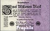 Deutsches Reich Rosenbg: 102c, Privatfirmendruck rotes Firmenzeichen gebraucht (III) 1923 2 Millionen Mark (Banknoten für Sammler)