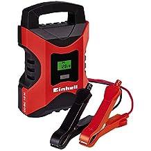 Einhell CC-BC 10 M Cargador de Batería con Control por Microprocesador, Voltaje 6 / 12 V, Corriente de Carga 10 A / 2 A