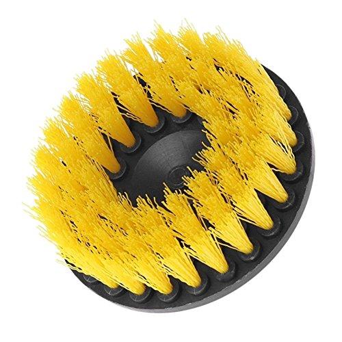 """Reefa Drill Attachment Power Scrubber, Bohrreinigungsbürste, Scrub Brush, steife Nylonborsten mit Metallschaft, 2""""/3,5""""/4""""/5"""""""