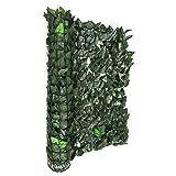 Blumfeldt Fency Dark Leaf - Clôture Pare-Vue, Clôture Brise-Vue, Paravent, Montage...