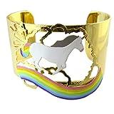 Pulsera artesano 'Monde Merveilleux'(unicorn)multicolor - 53 mm 37 mm.