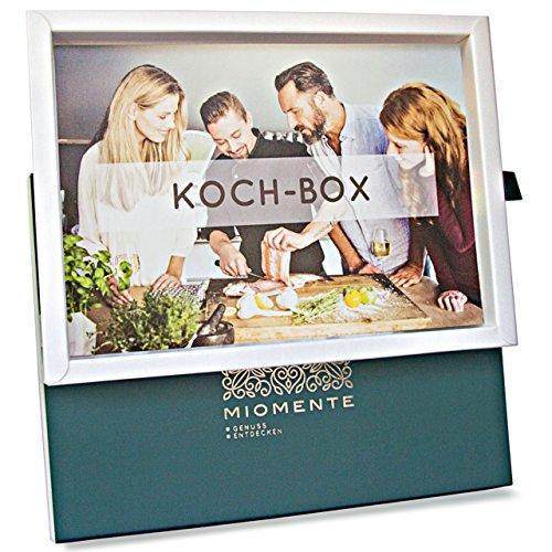 Miomente KOCH-Box: Kochkurs-Gutschein - Geschenk-Idee Erlebnisgutschein (Vegan-kochkurs)