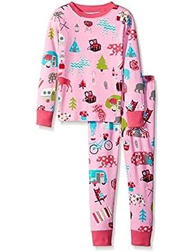 Hatley Mädchen Zweiteiliger Schlafanzug Lbh Kids Pj Set - Glamping