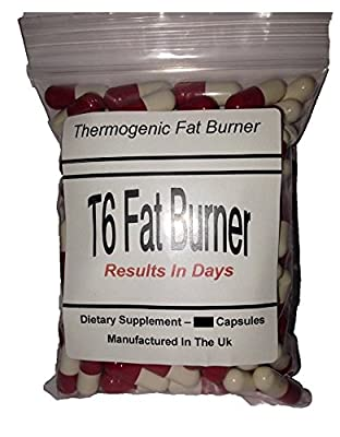 T6 Fat Burner X 60 Capsules '' Buy 2 Get 1 Free '' - For Weight Loss, Appetite Suppressant, Boost Metabolism - For Both Male And Female by KJL SUPPLEMENTS