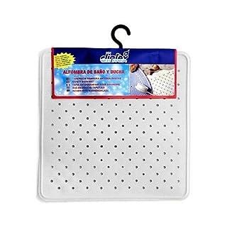 CARPET Shower Rubber White 43x 43