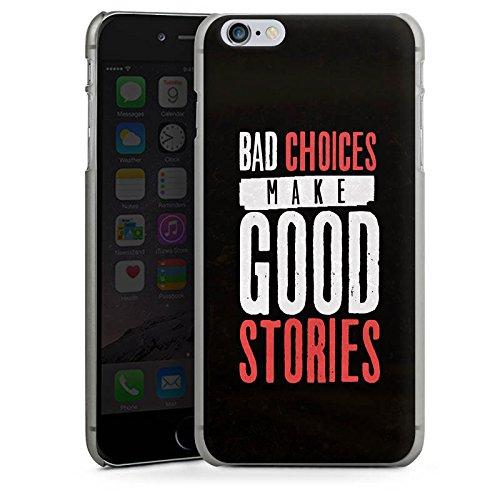 Apple iPhone X Silikon Hülle Case Schutzhülle Sprüche Humor Statement Hard Case anthrazit-klar