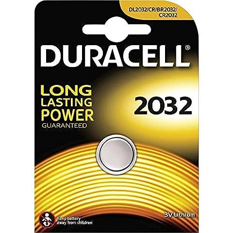 2x Duracell CR2032 DL2032 Knopf 2032 Coin Cell Car Alarm Lithium-Batterien